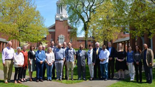 The Inaugural Group of Andover Newton Seminary Fellows