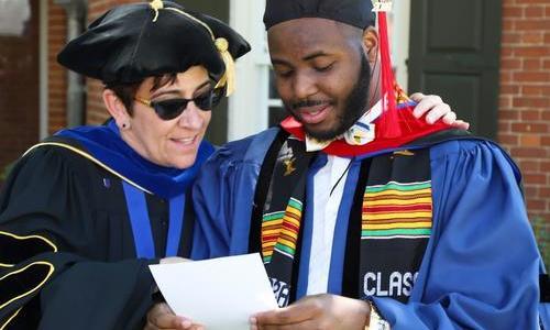 Sarah Drummond with Recent Graduate