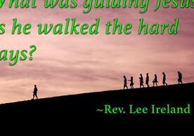 Rev. Lee Ireland devotion