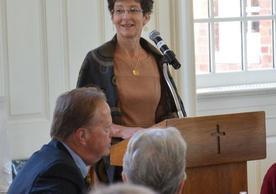 Linda Campanella, Chair of the Andover Newton Board of Trustees