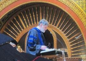 William (Bill) Herzog II at 2010 Commencement