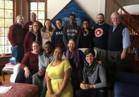 Students and facutly attended the first annual Andover Newton Seminary retreat