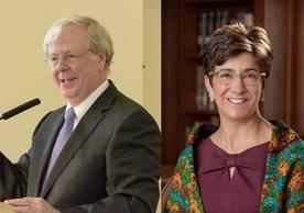 Martin Copenhaver and Sarah Drummond